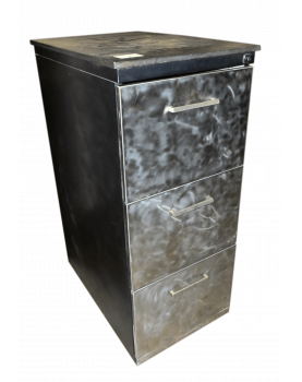 Iron Cabinet Relooked