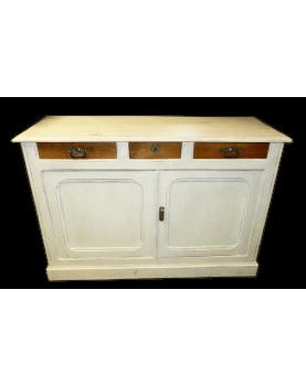 White Ceruse Cabinet