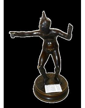 Italian Bronze Harlequin