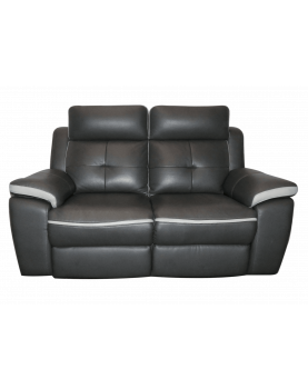 Canapé moderne 2 places gris