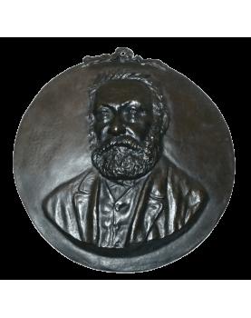 Relief Bronze Victor Hugo